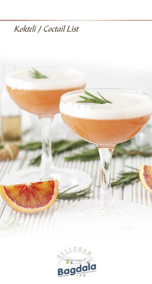 Kokteli / Cocktail list