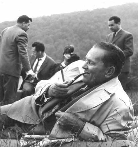 """Stevan Kragujević: """"Predah"""" Tito na Jastrepcu 1961"""